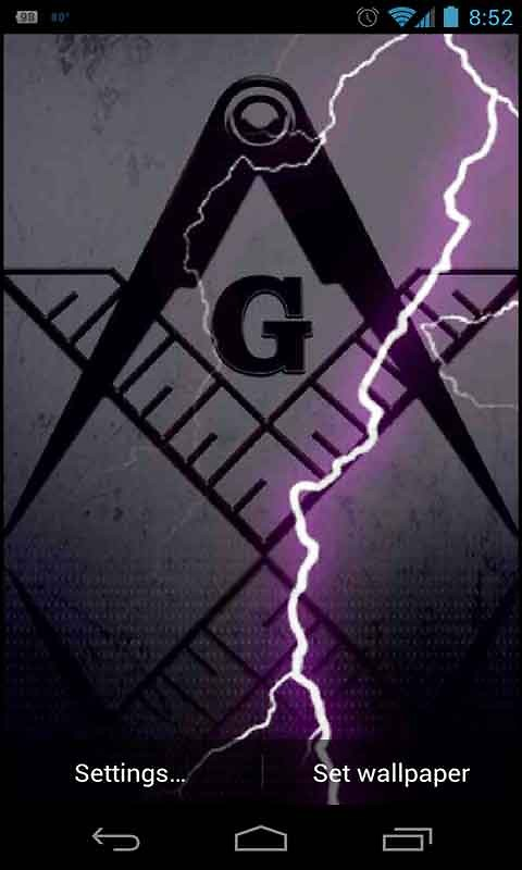 Android Live Wallpaper download   Download the Freemason 480x800