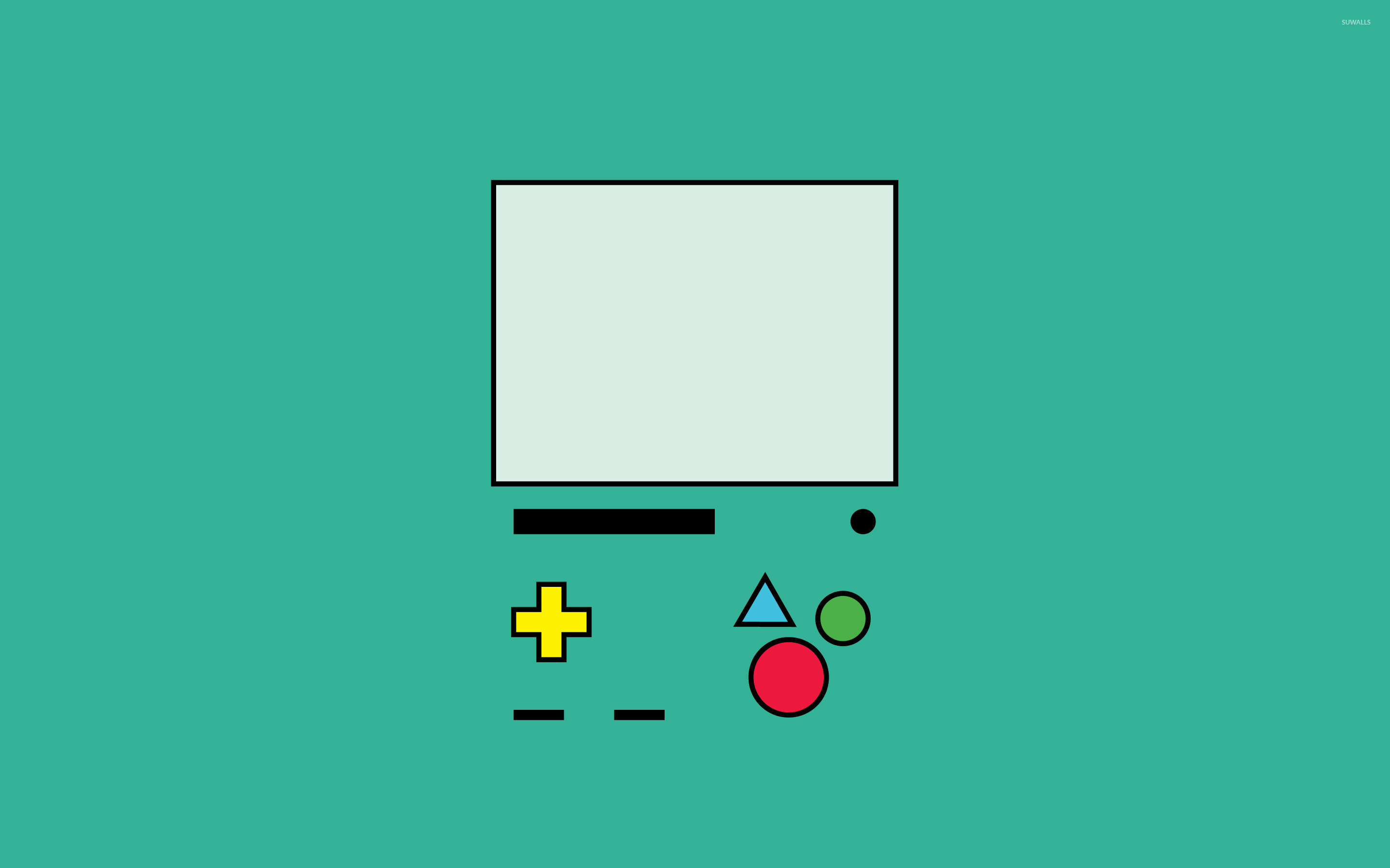 Nintendo Game Boy wallpaper   Minimalistic wallpapers   16072 1280x800