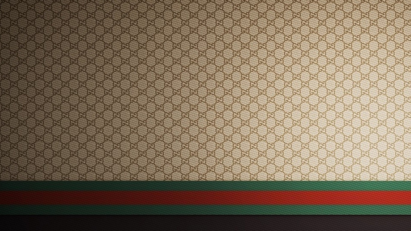 brands gucci gucci backgrounds gucci logo fashion brands gucci 1366x768