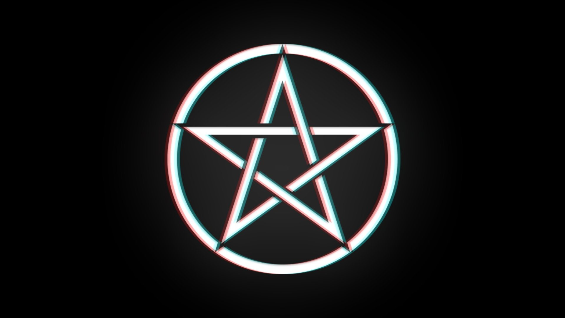 Pentagram Wallpaper 1920x1080 HD [3D Effect] by 1920x1080