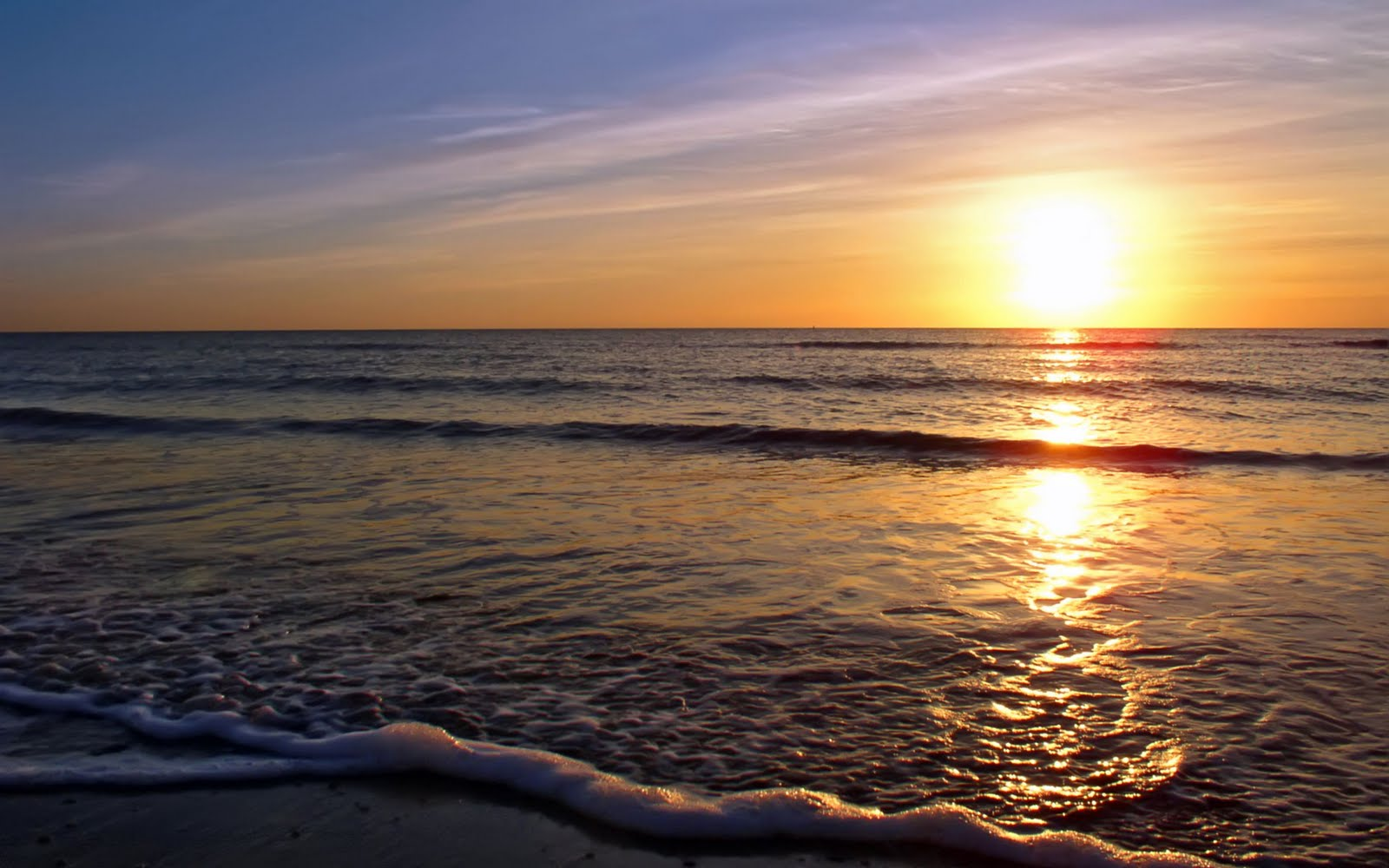 Gallery For > Beach Sunrise Desktop Wallpaper