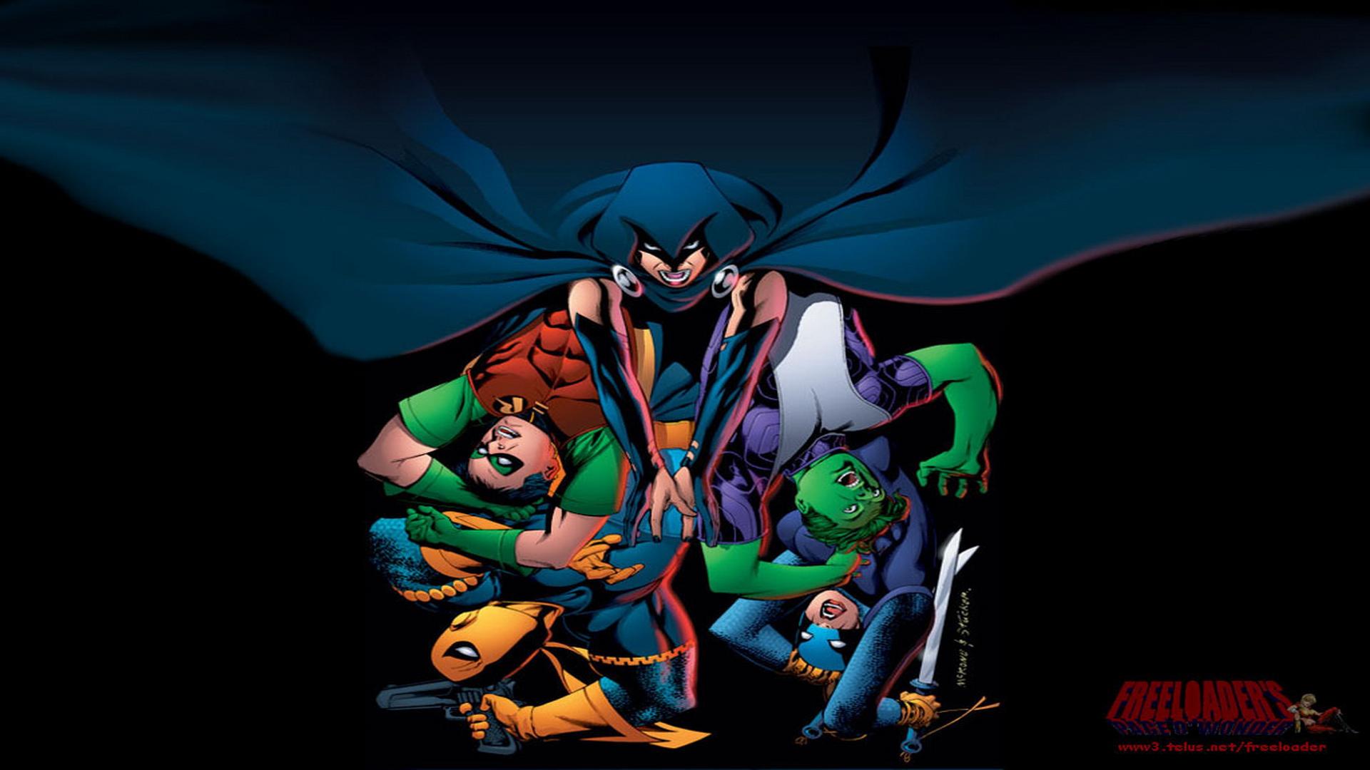 [41+] Teen Titans Wallpaper HD on WallpaperSafari