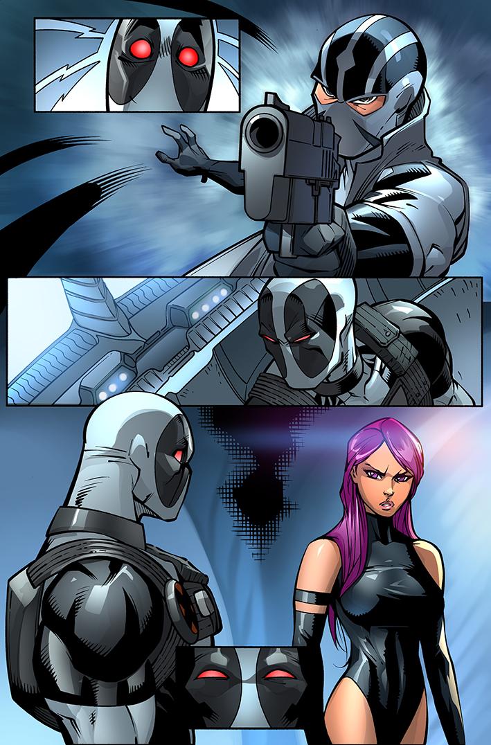 Deadpool X Force by DonoMX 709x1076