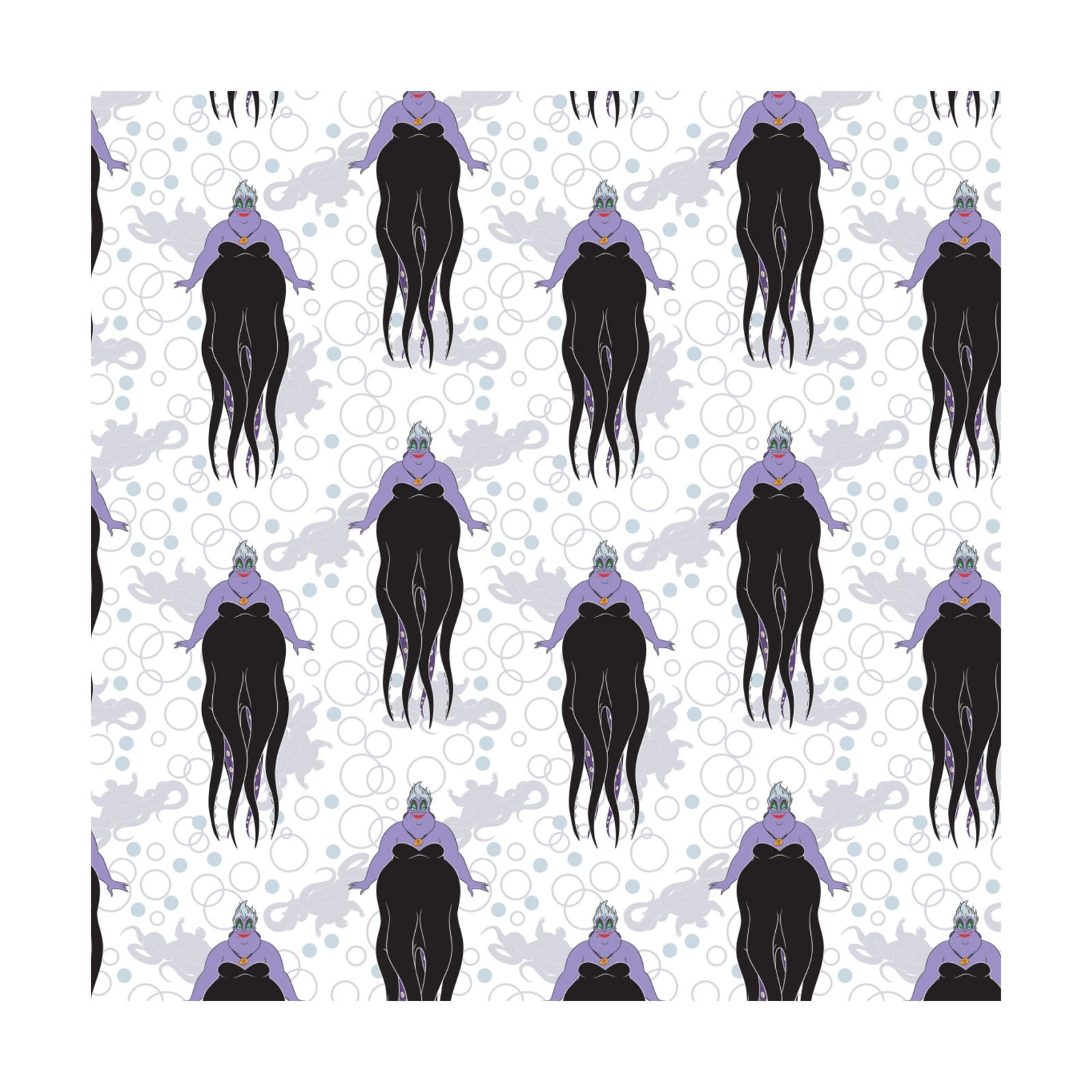 Disney Villians Ursula white background The Quilting Place 1600x1600