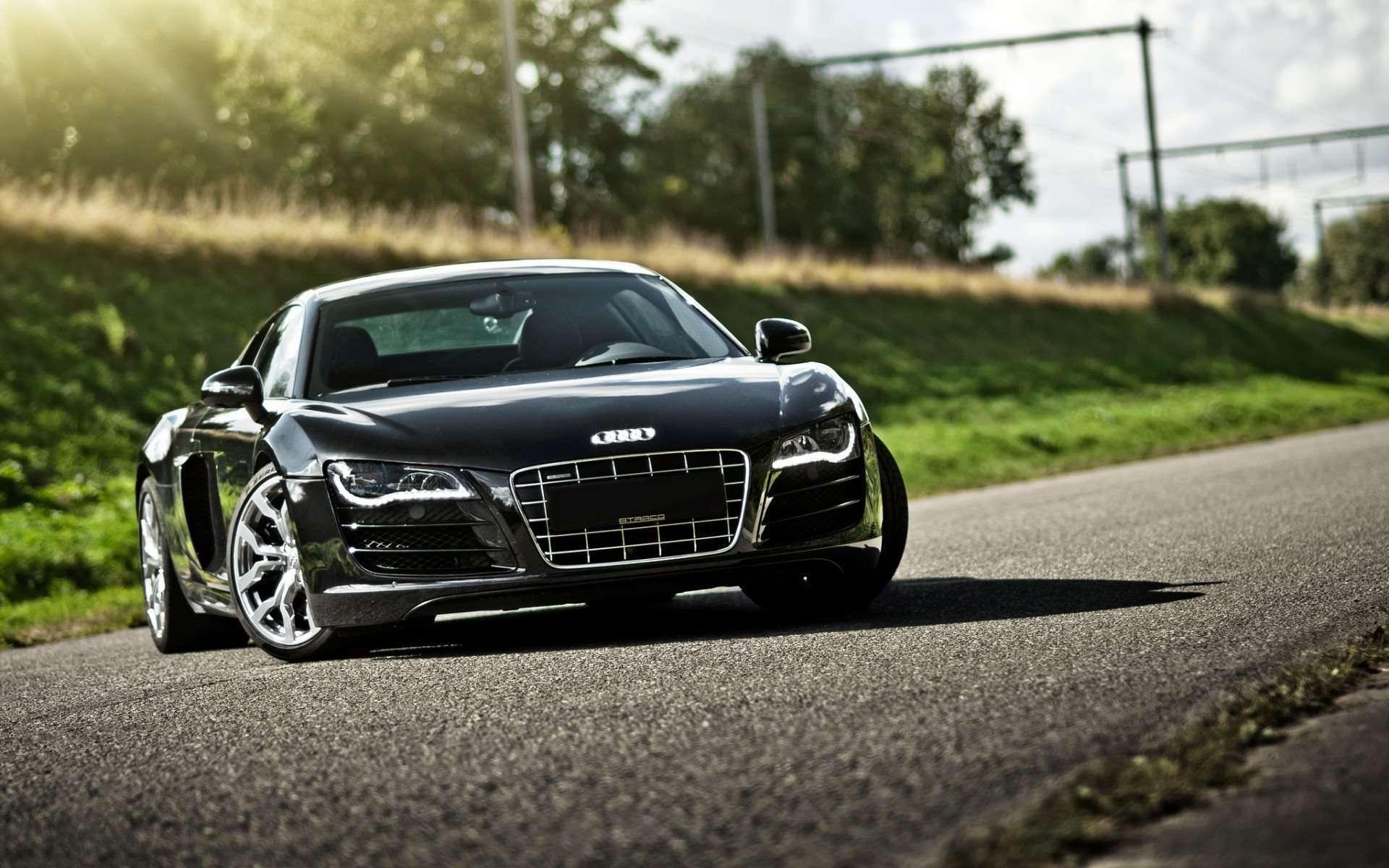 [39+] Matte Black Audi R8 Wallpaper on WallpaperSafari