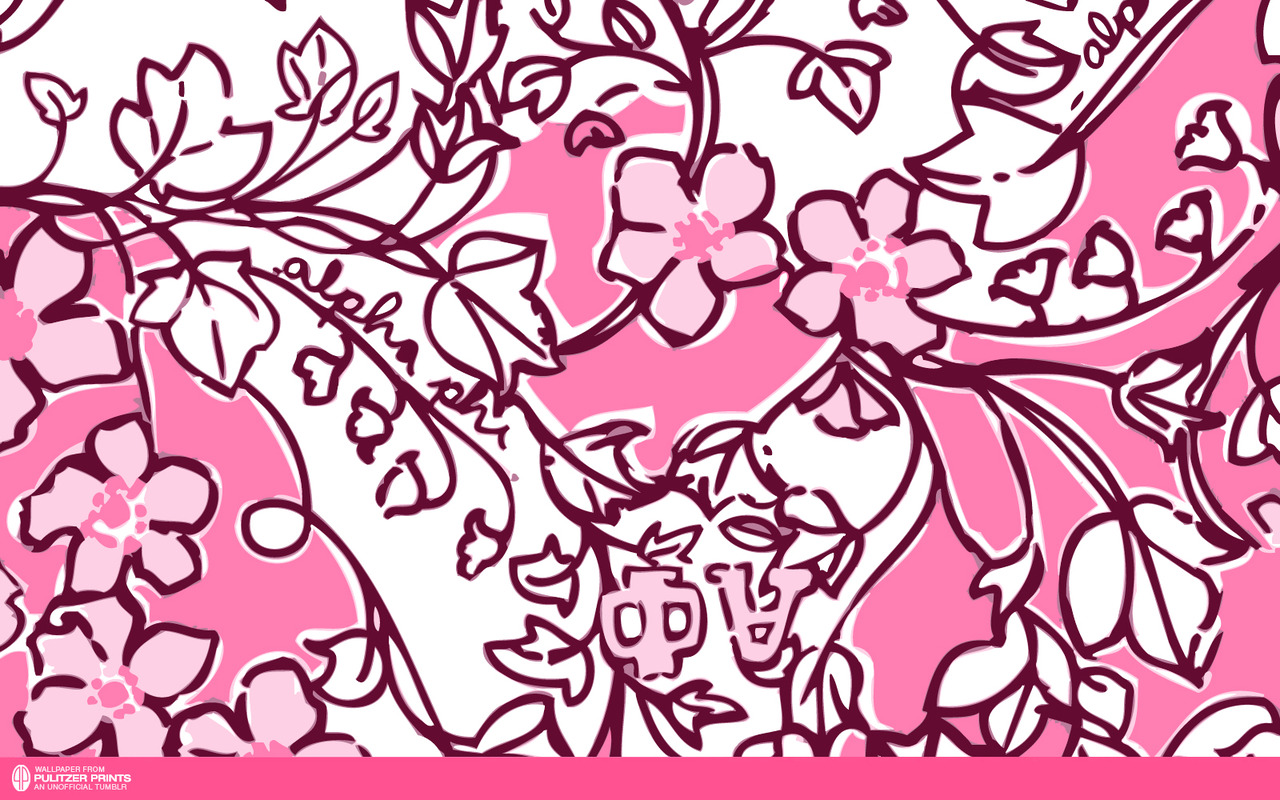 An Unofficial Collection of Lilly Pulitzer Prints   Alpha Phi 1280x800
