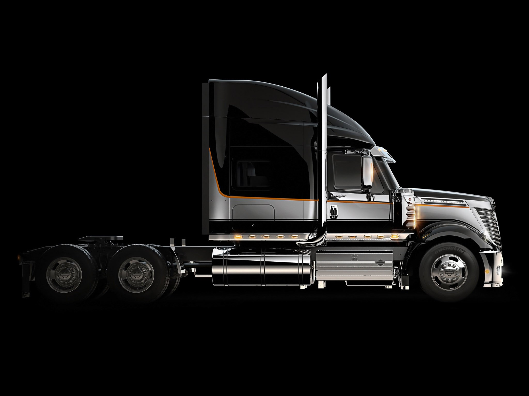 Semi Truck Wallpaper Background - WallpaperSafari