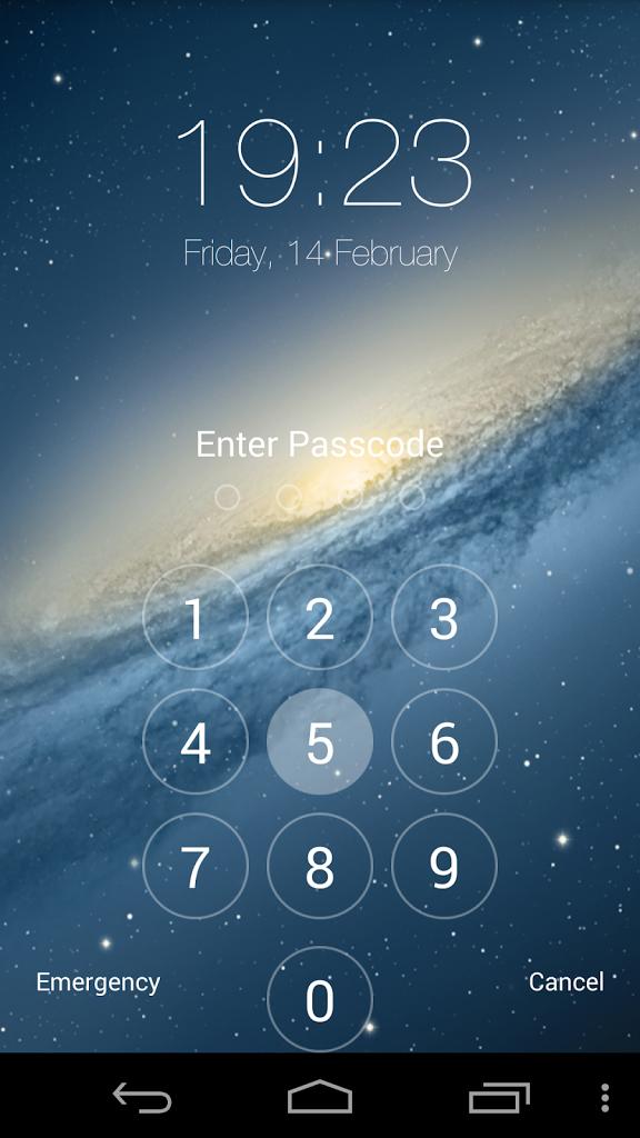 Gratis Galaxy Ruang Lock ScreenGratis Galaxy Ruang Lock Screen 576x1024