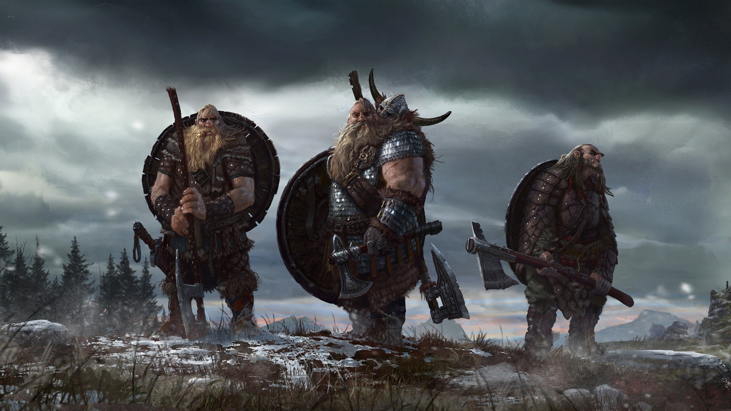 Viking Backgrounds Download 2560x1440