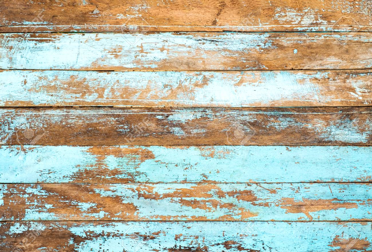 Vintage Beach Wood Background   Old Weathered Wooden Plank Painted 1300x883