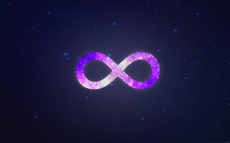 знак бесконечность sign infinity  № 2317279 бесплатно