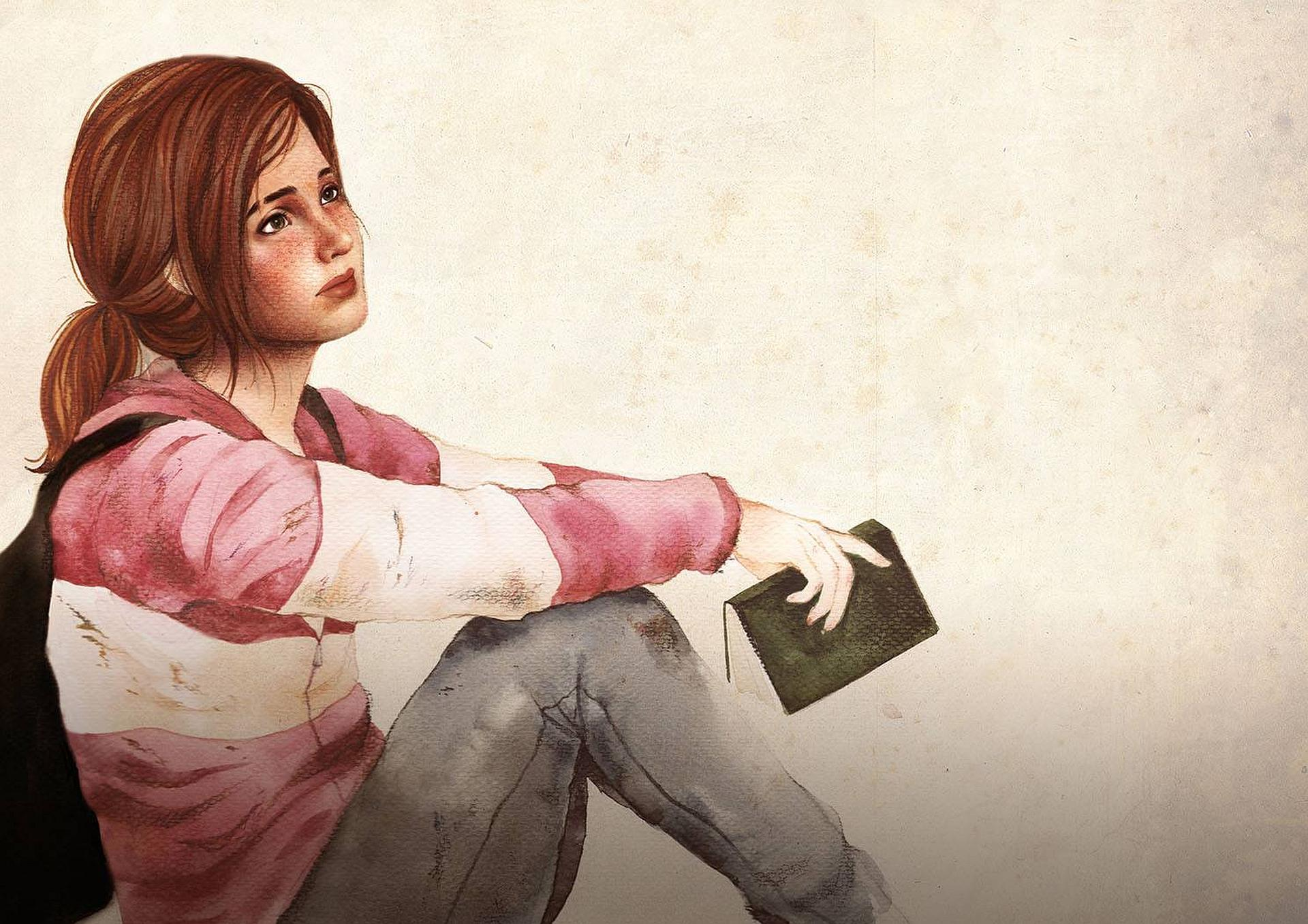 The last of us ellie drawing   144592   High Quality and Resolution 1920x1357