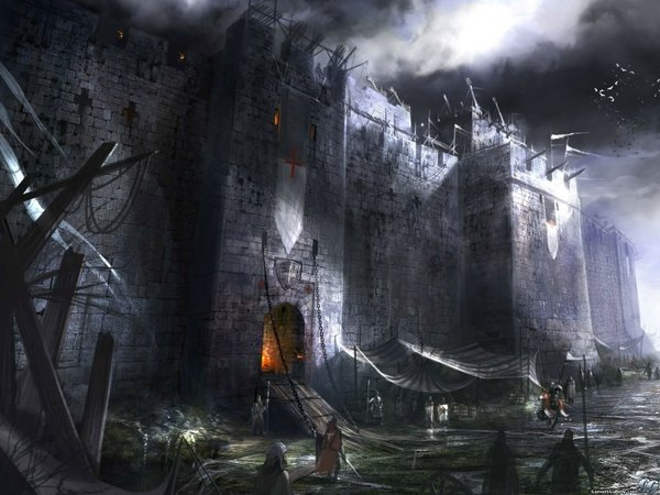 medieval medieval buildings 1600x1200 wallpaper Castles Wallpapers 600x450
