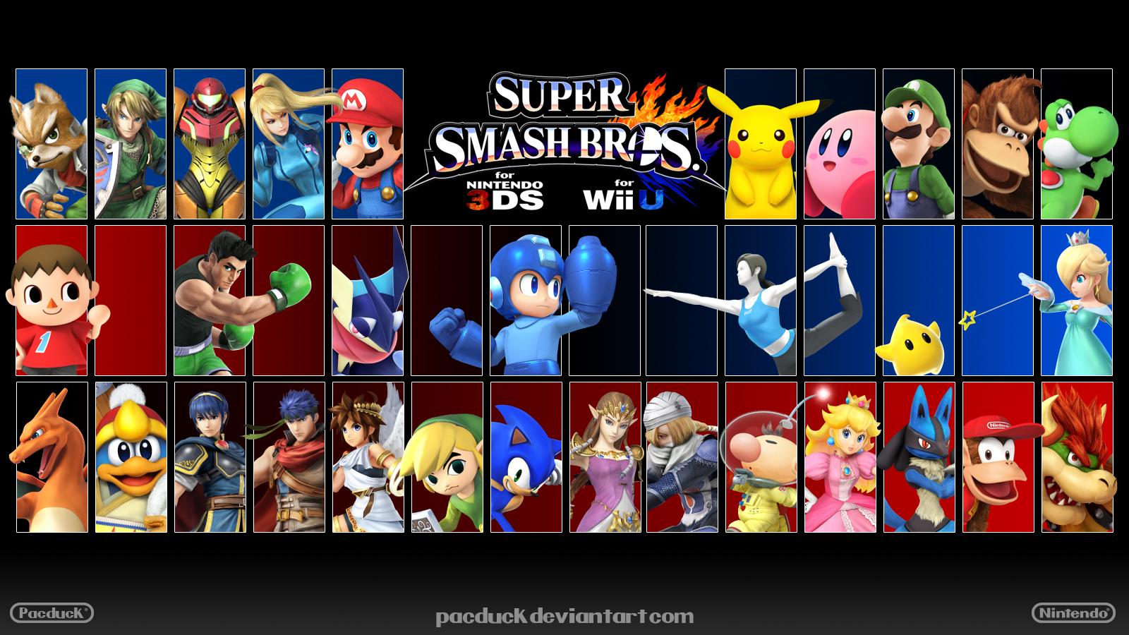 Free download super smash bros wii u 3ds wallpaper 2 by