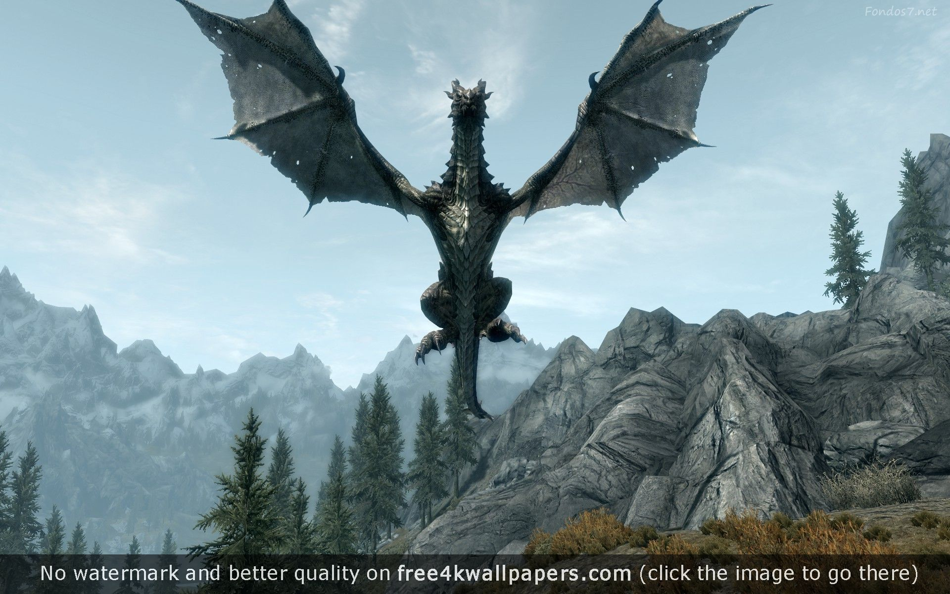Best skyrim 4K or HD wallpapers for your PC Mac or Mobile Device 1920x1200