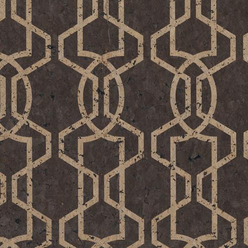 Candice Olson II Dimensional Surfaces Moroccan Trellis Wallpaper 500x500