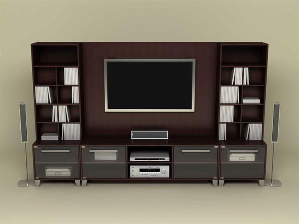 TVroom tv room lcd screens interior 1400x1050 wallpaper Modern 600x450