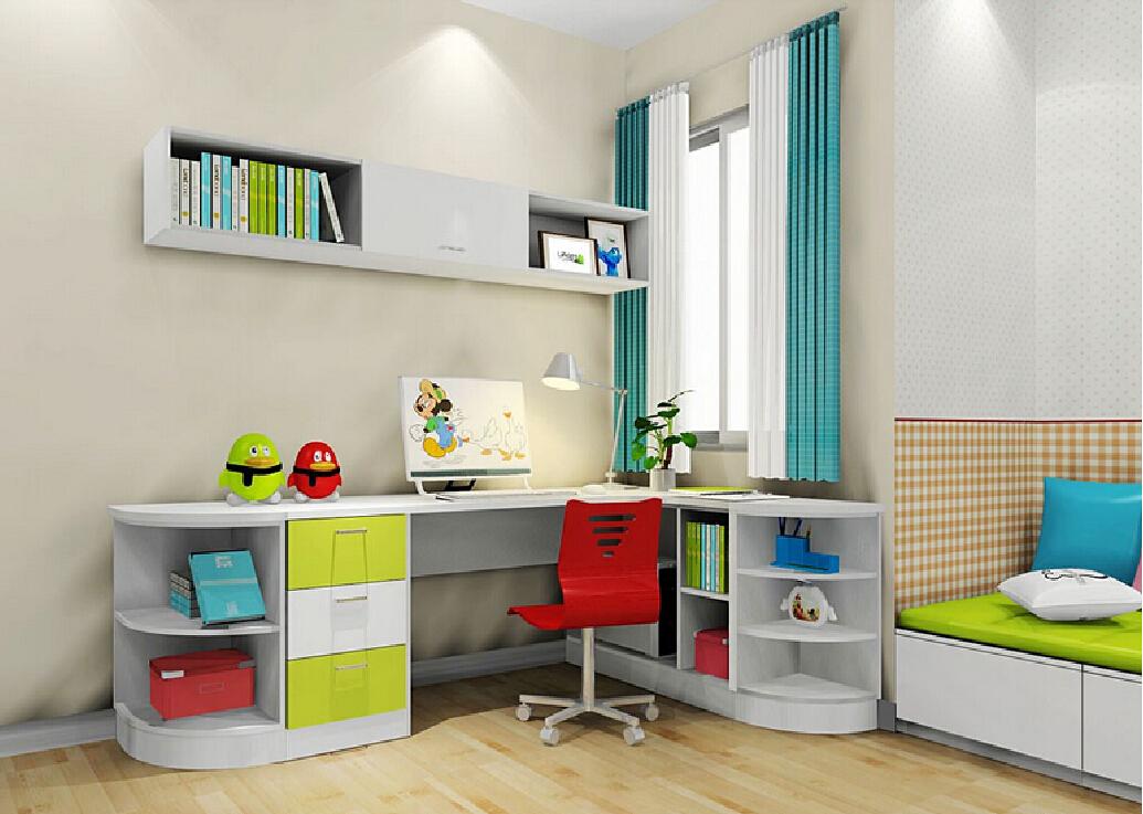 Free download 3D Interior Design Kids Room Corner Desk ...