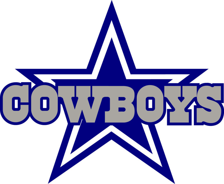 Dallas Cowboys Official Logo Dallas cowboys star logo 768x631