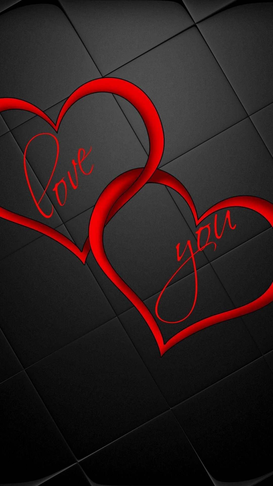 Love u hearts hearts of love Cellphone wallpaper Heart 1080x1920