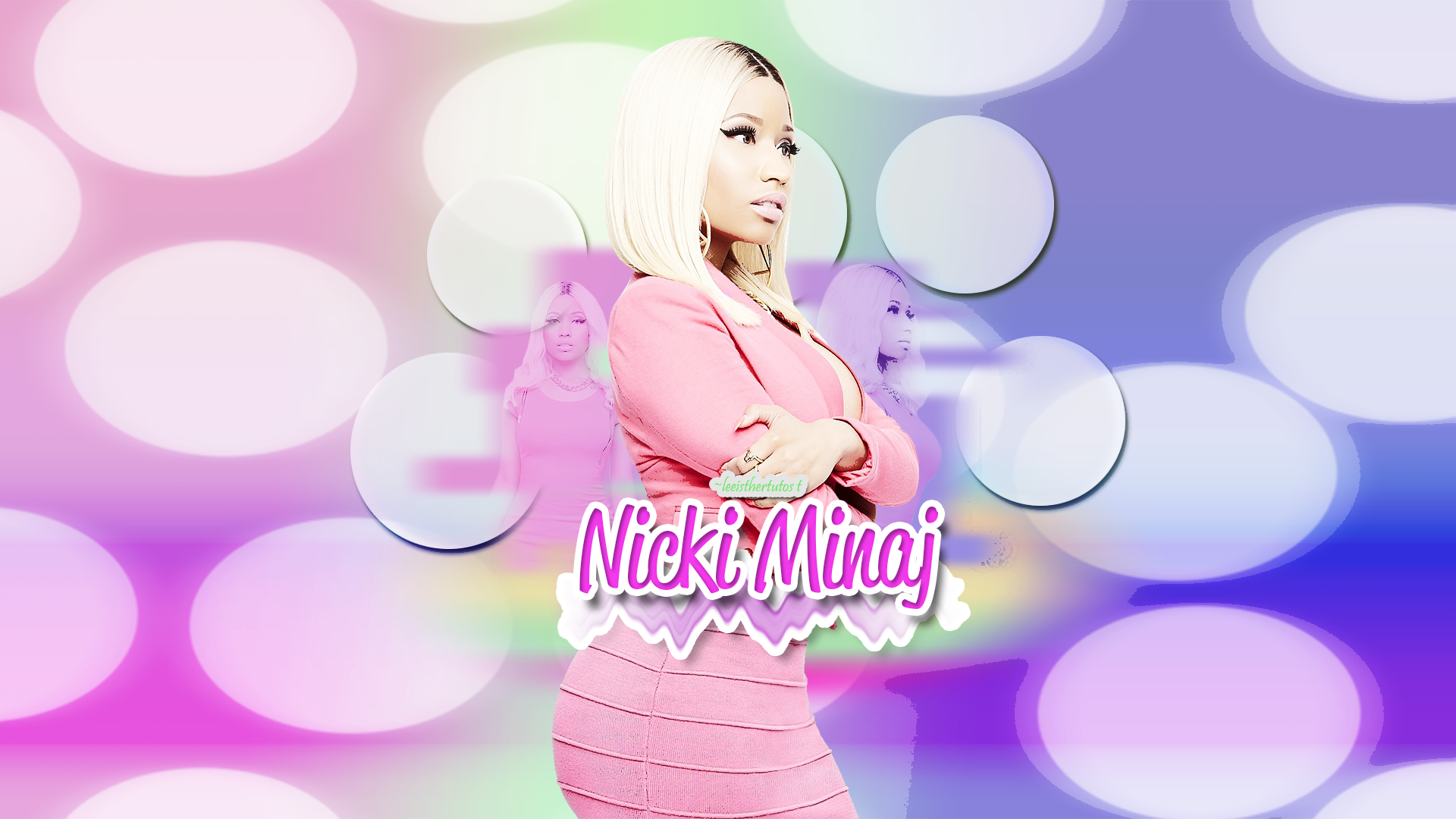 nicki minaj wallpaper hq by leeisther customization wallpaper fantasy 1920x1080