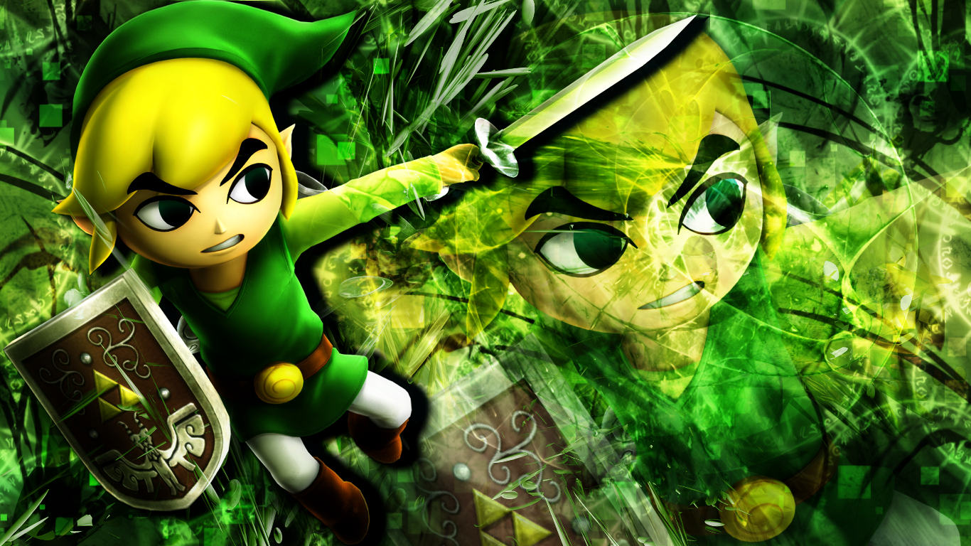 HWL   Toon Link   Wallpapers PC use by Inoune on 1366x768