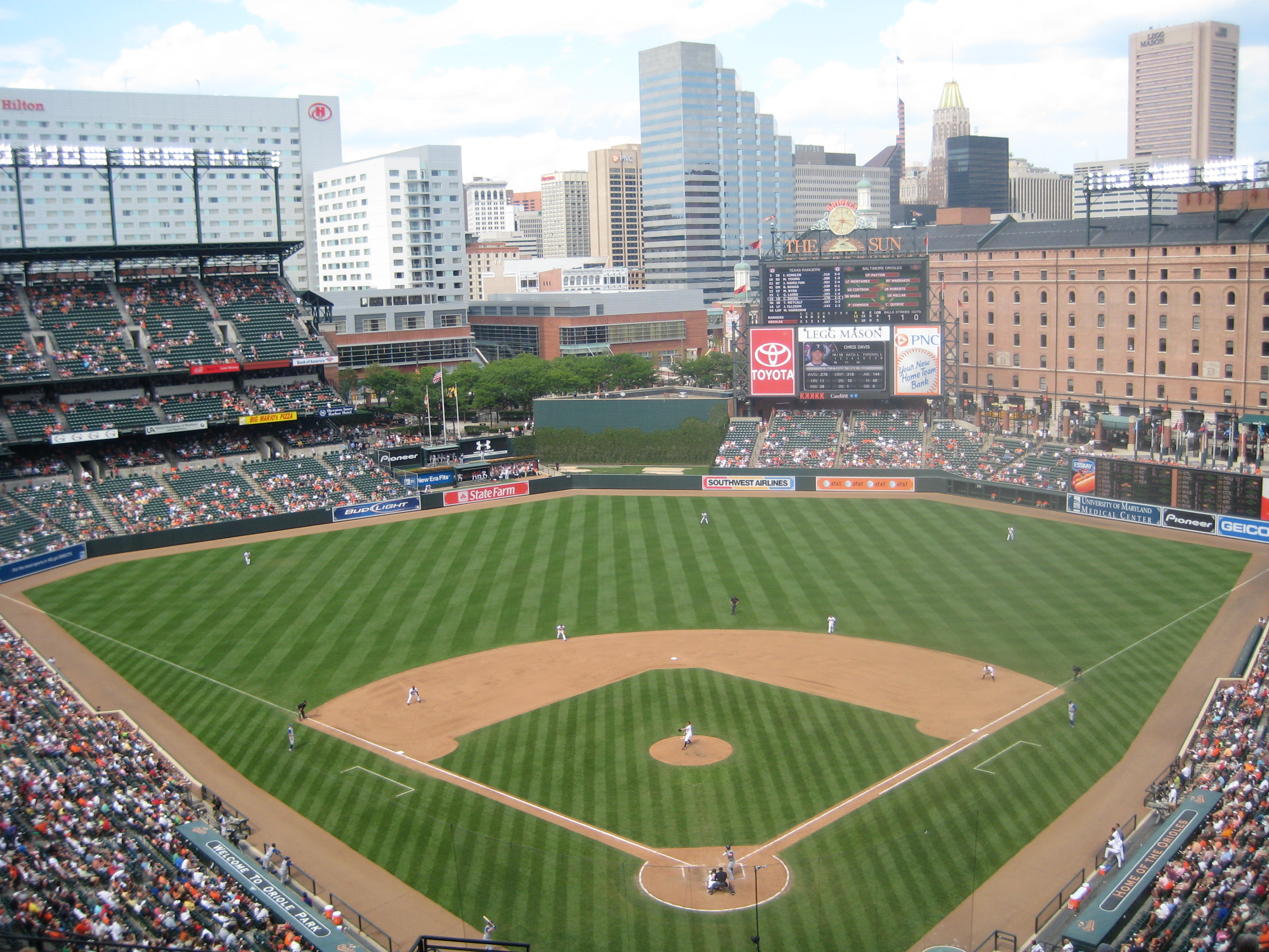 Camden Yards Wallpaper Wallpapersafari