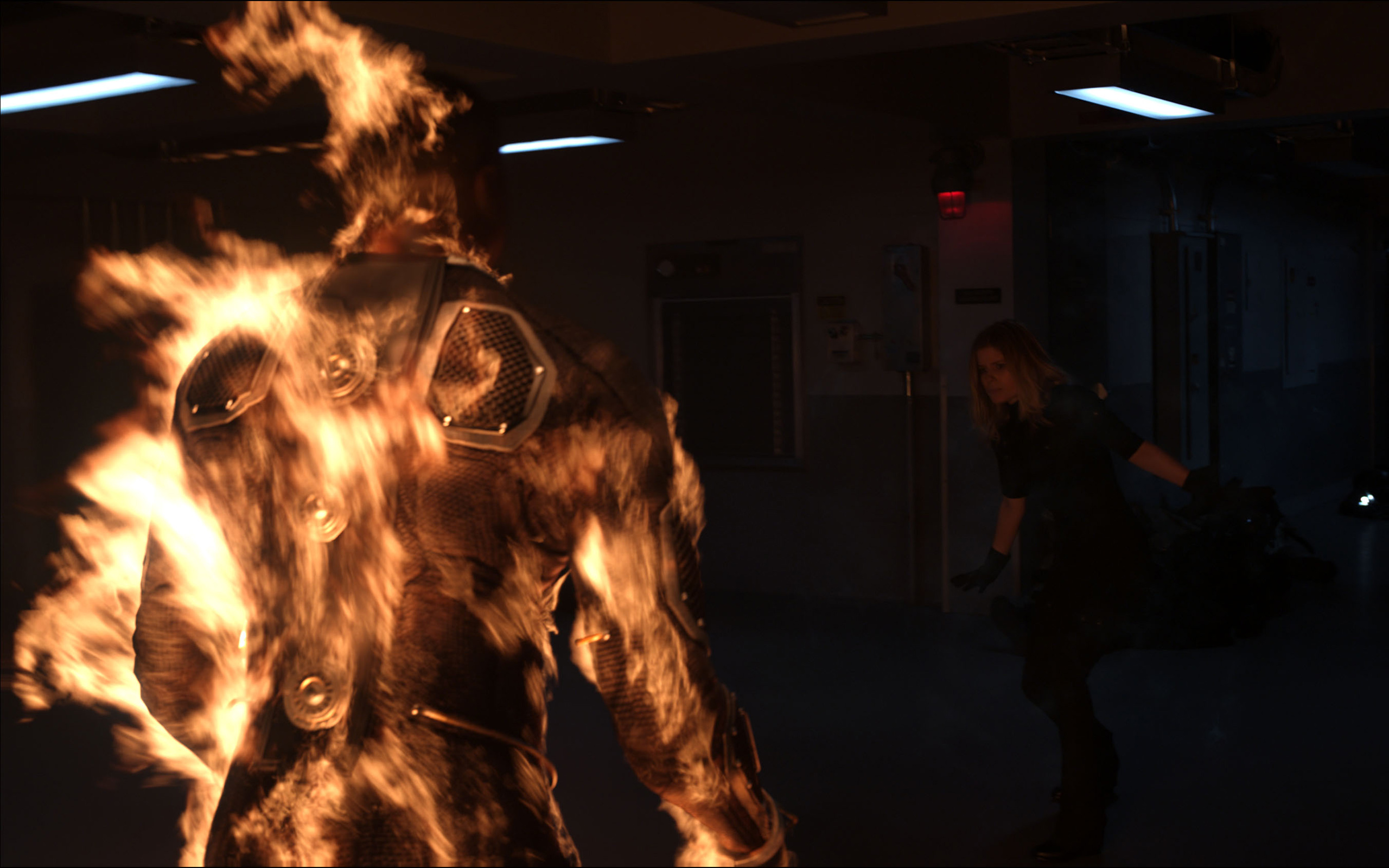 Human Torch HD Wallpaper For Your Desktop 2560x1600