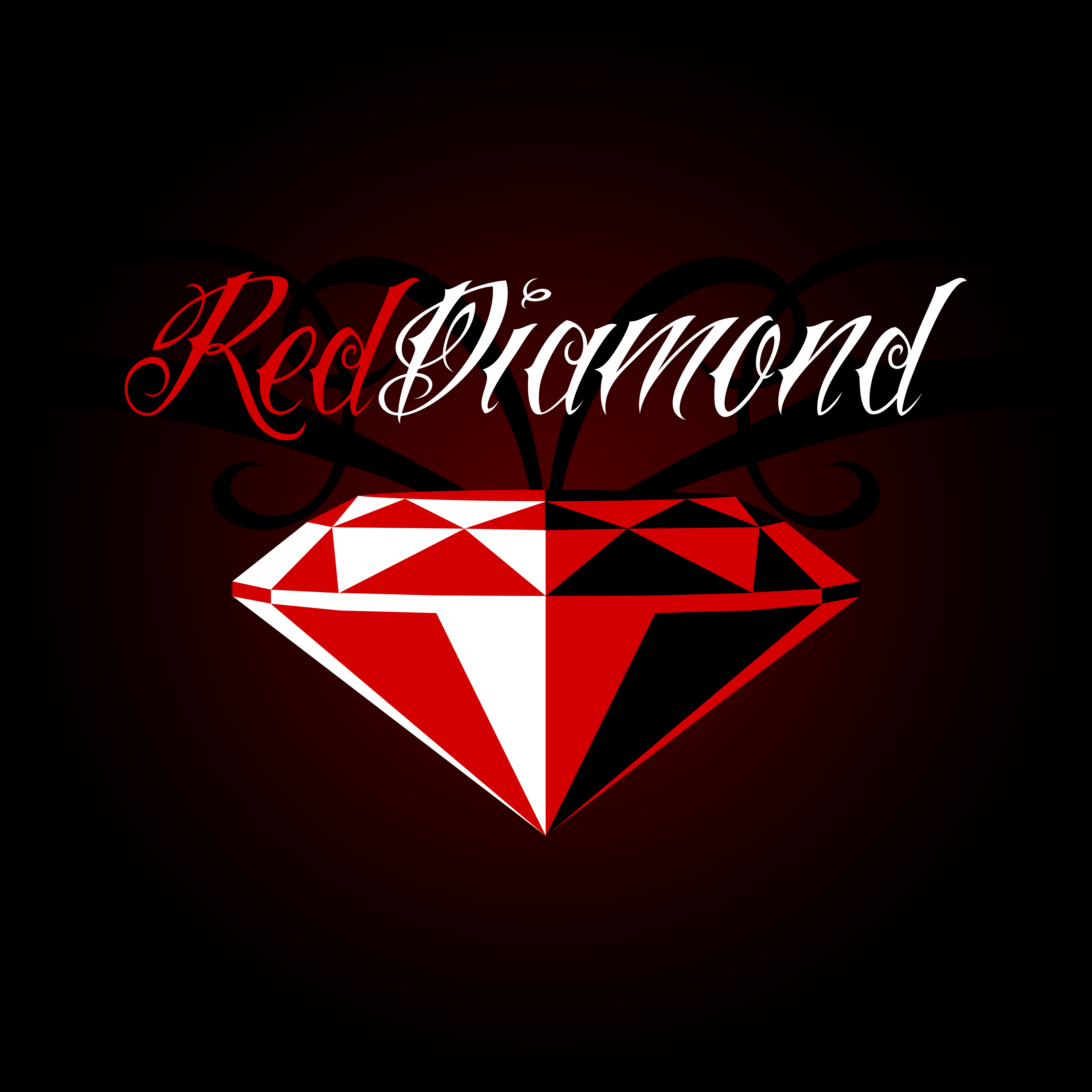 Wollpepar Diamond: Red Diamond Wallpaper