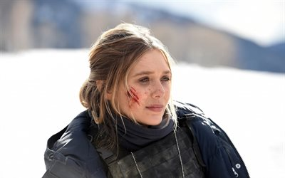 Download wallpapers Wind River 2017 Elizabeth Olsen 400x250