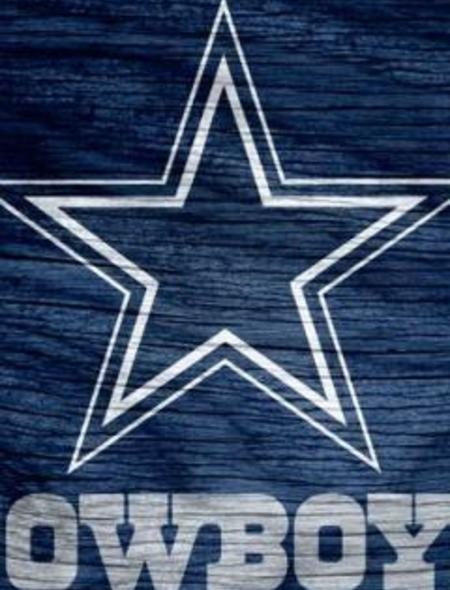 Dallas Cowboys Blue Logo Weathered Wood Wallpaper for iPhone 4 450x590