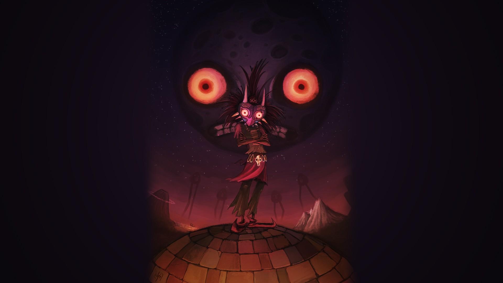 Zelda Majoras Mask Skull Kid fantasy wallpaper 1920x1080 117424 1920x1080