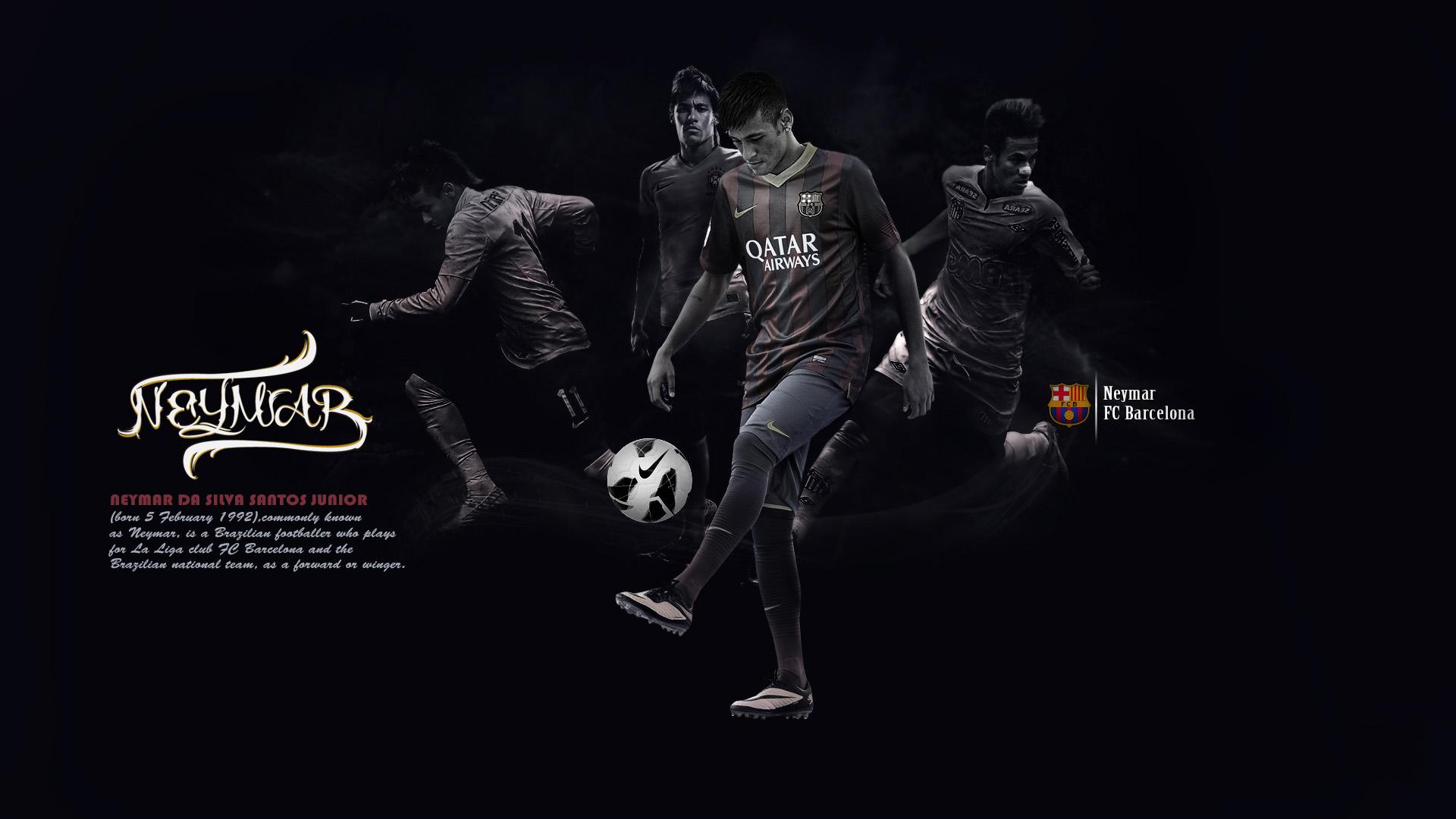 Neymar wallpapers in 2018 Barcelona and Brazil 1920x1080