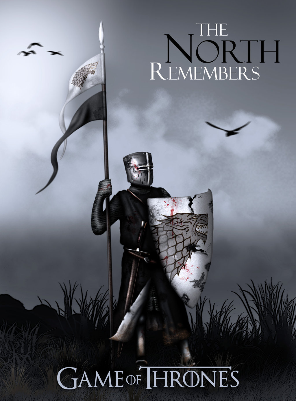 The North Remembers Wallpaper 1024x1385