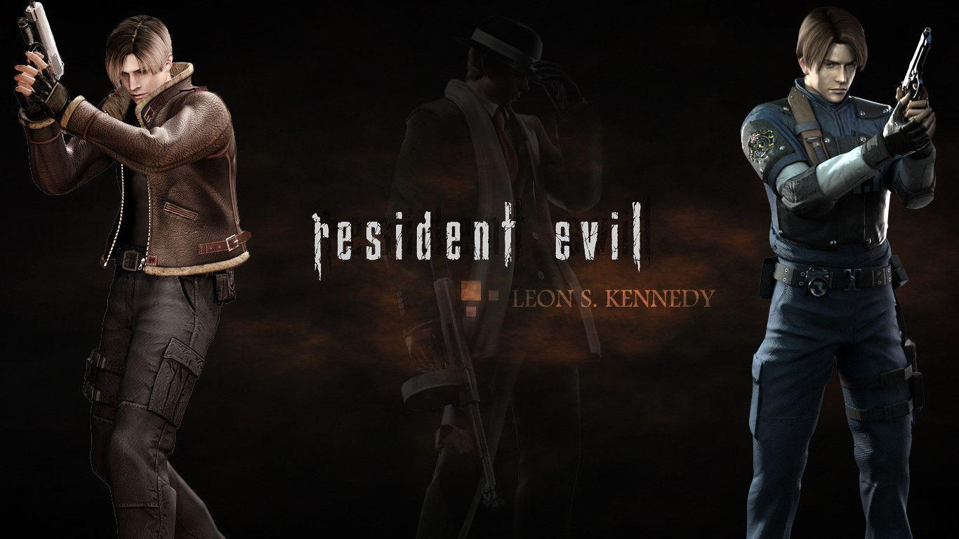 Free Download Resident Evil 4 Leon Wallpapers 1366x768 For Your