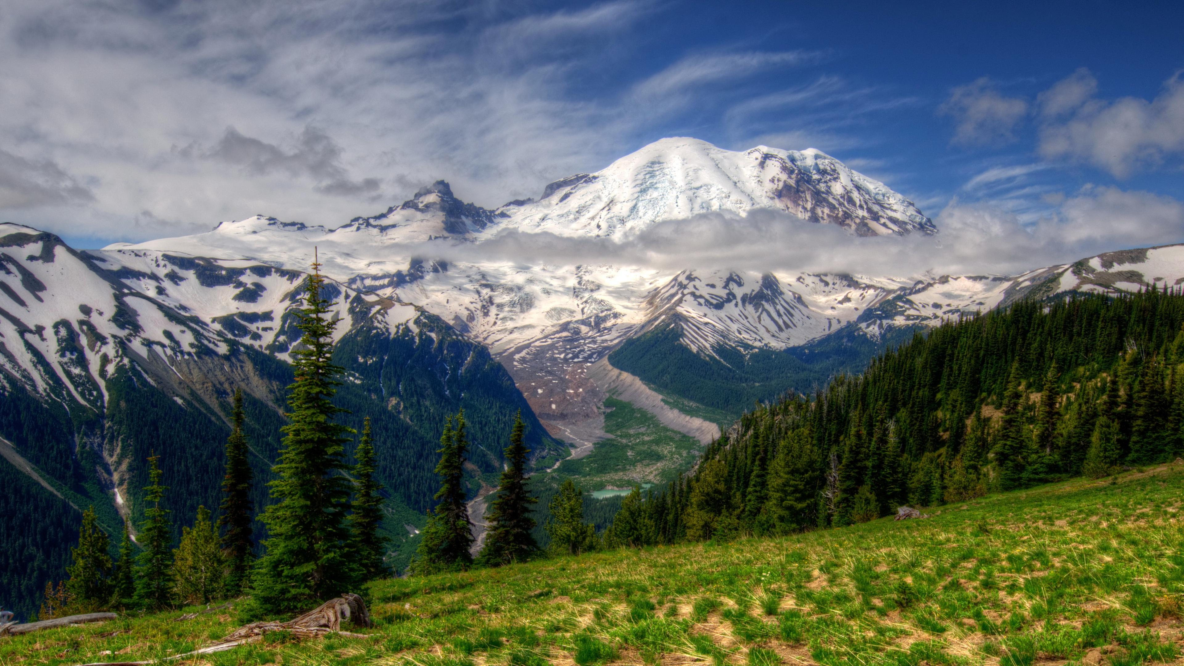 Mount Rainier Wallpapers HD 3840x2160