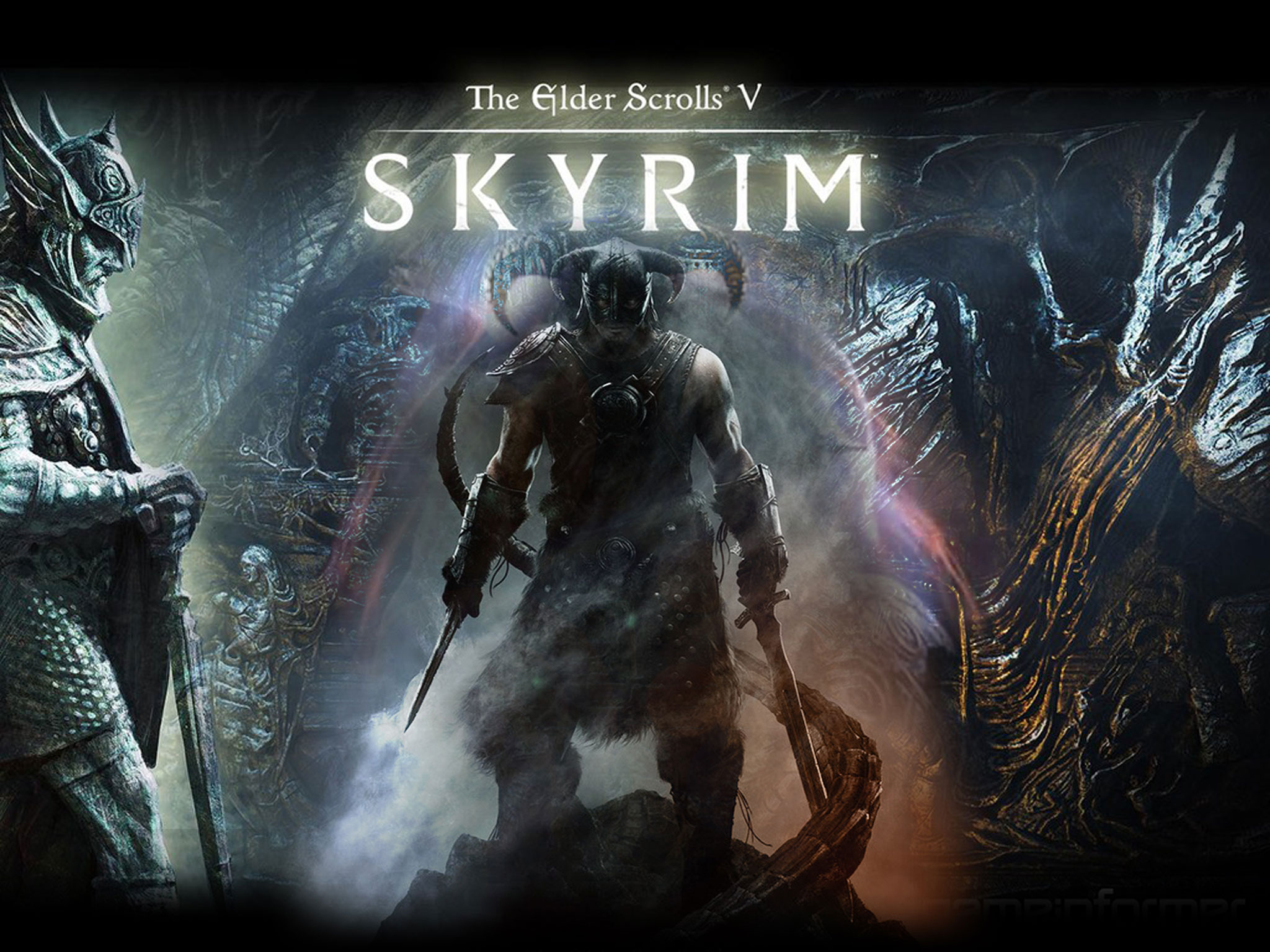 Games Wallpapers   The Elder Scrolls V Skyrim 2048x1536 wallpaper 2048x1536