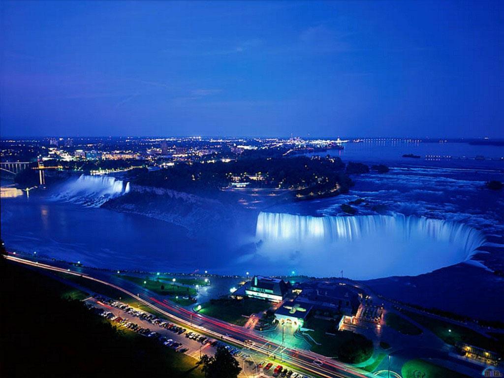 Wallpaper Niagara Falls Ontario Canada 1024 x 768 Desktop 1024x768