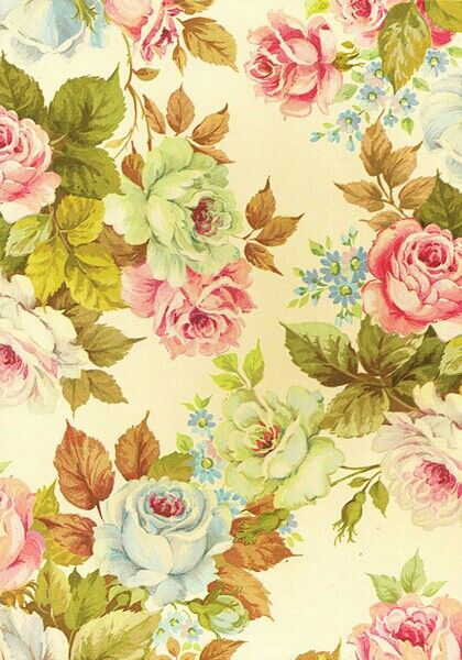 Flower Wallpaper Vintage Flowers And 420x600