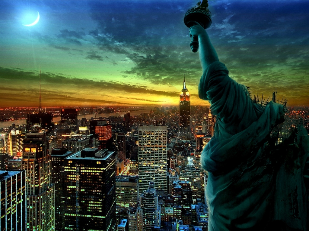 10 New Amazing 3d Animated Wallpapers Hd Full Hd 1080p For: New York Screensaver And Wallpaper