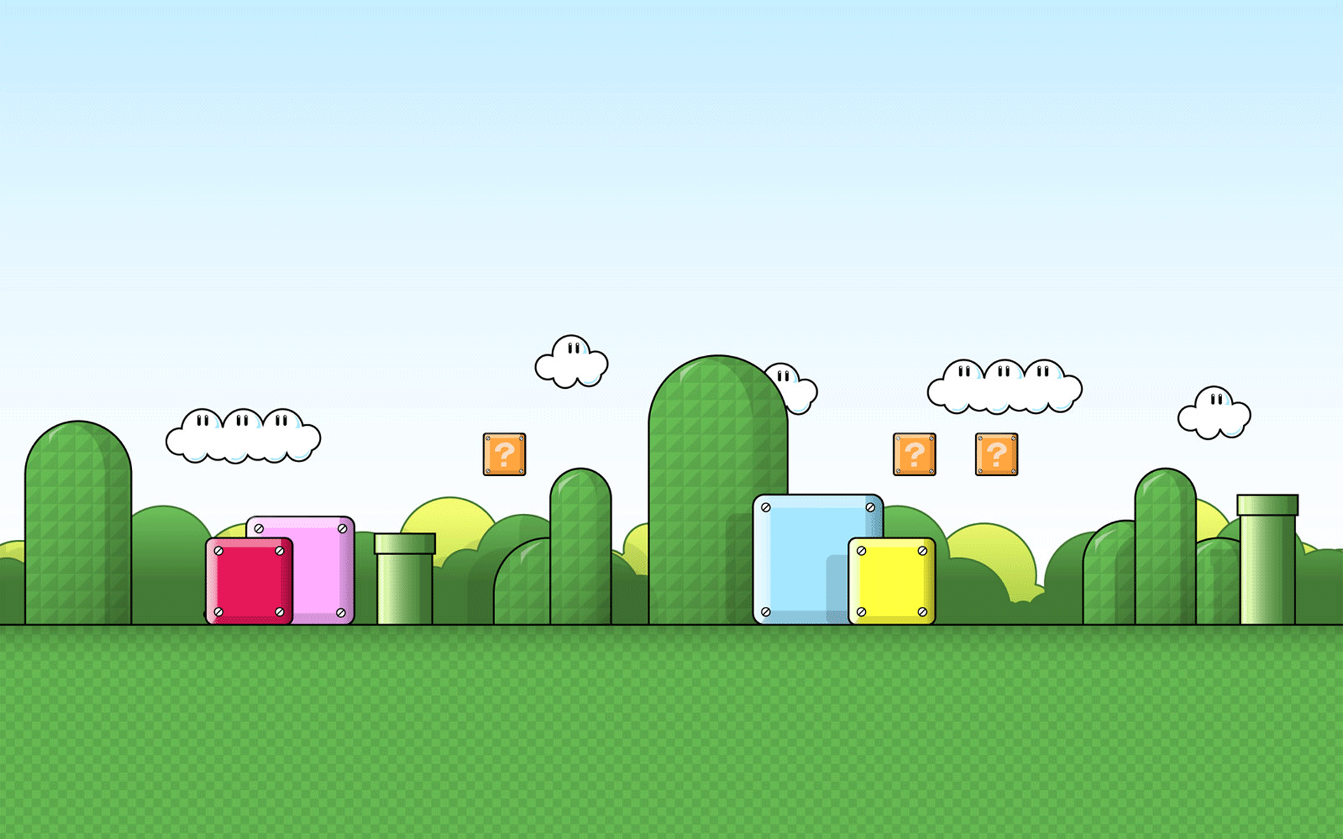 Super mario backgrounds 1920x1200