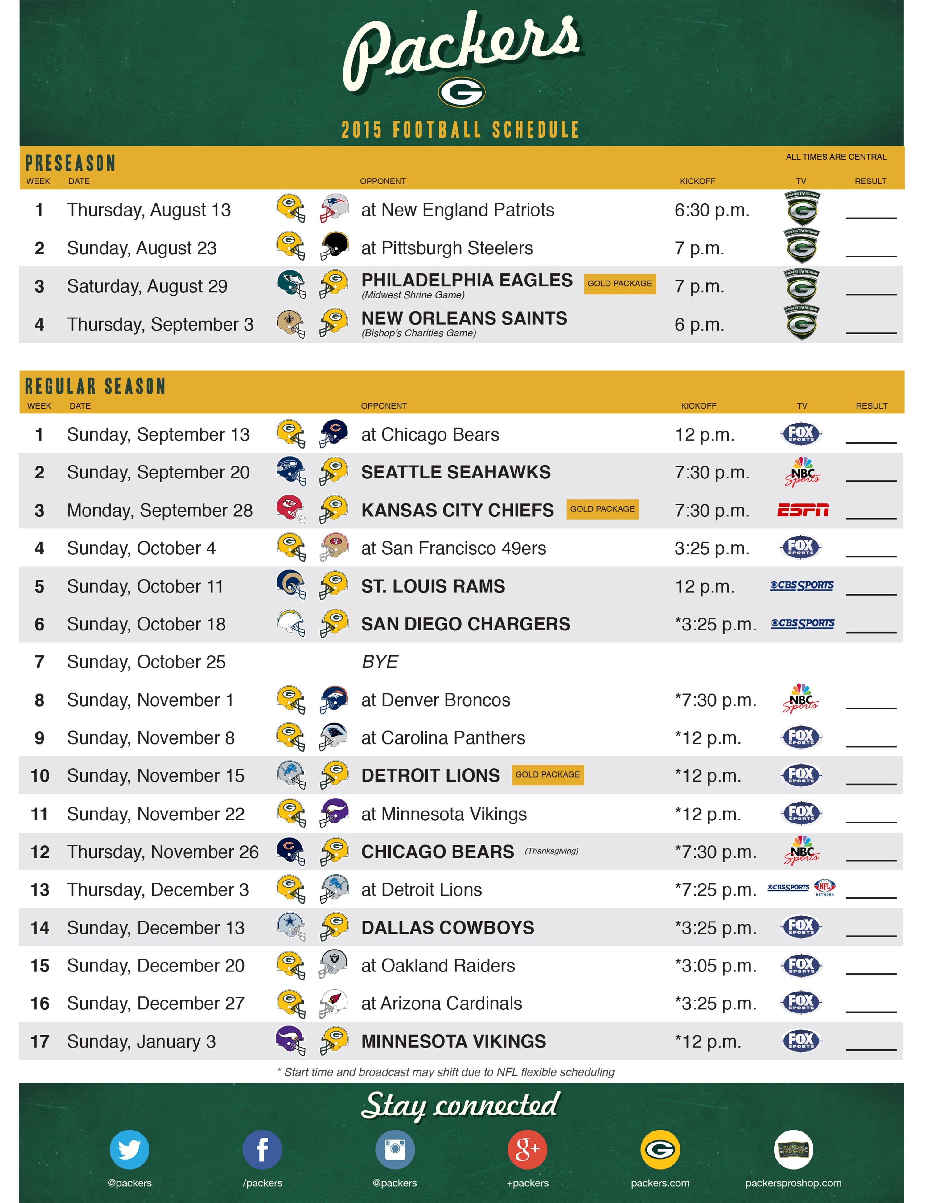 picture regarding Packers Printable Schedule identify Vimpat Plan Drug: Island Packers Timetable