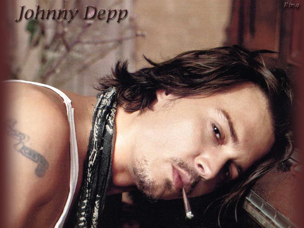 Latest Hollywood Hottest Wallpapers Johnny Depp Desktop 1024x768