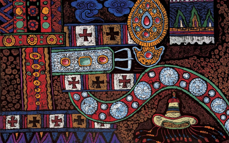 Tibetan Thangka Painting Widescreen 1 14 Wallpaper 1440x900 Wallpaper 1440x900