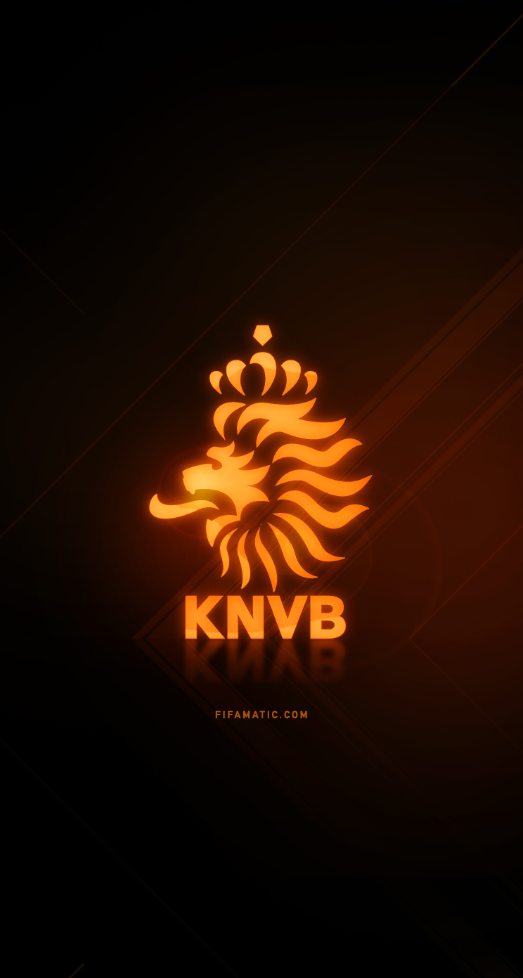 download Netherlands Football Wallpaper [744x1392] for your 744x1392