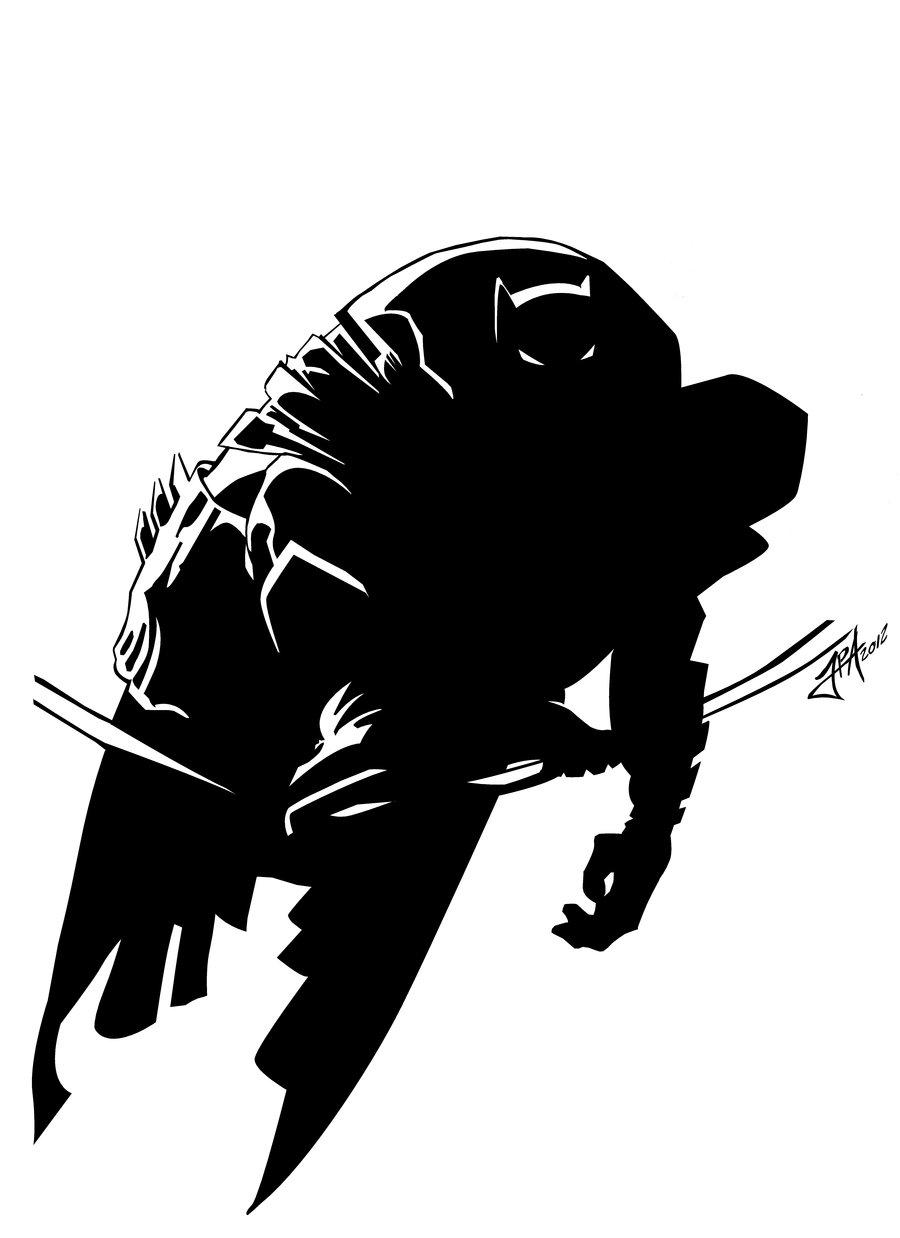 early Frank Millerss DKR Batman by ludy83 900x1238