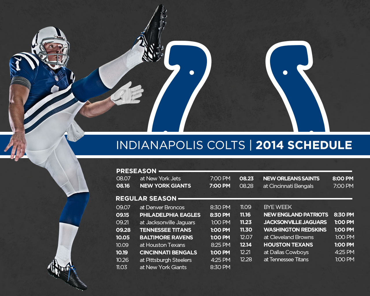 Indianapolis Colts Wallpaper 2014 - WallpaperSafari
