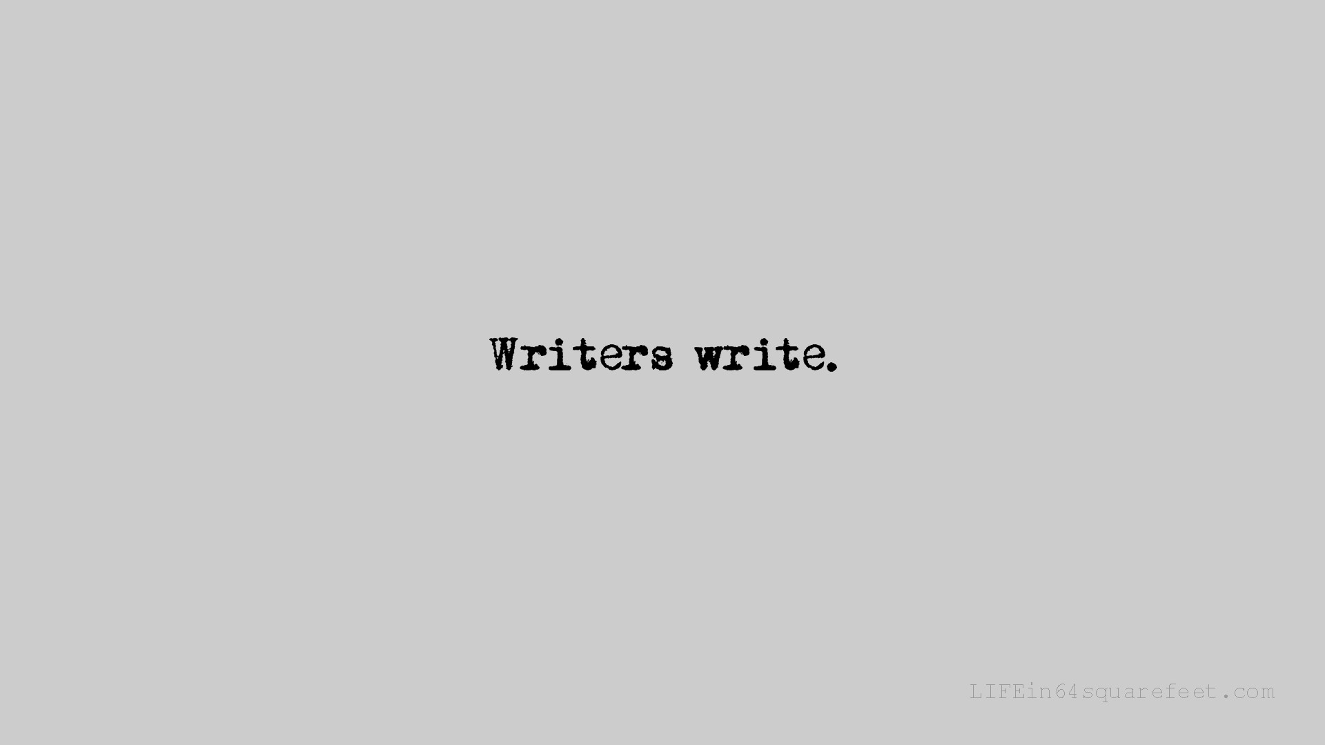 Download Desktop Wallpapers for Writers Lifein64SquareFeetcom 1920x1080