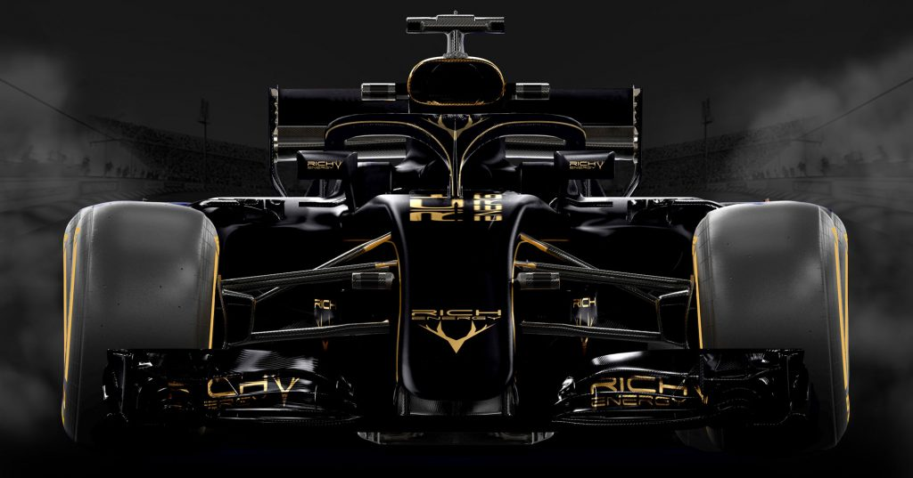 Rich Energy Haas F1 Livery Design Teased RaceDepartment   Latest 1024x537