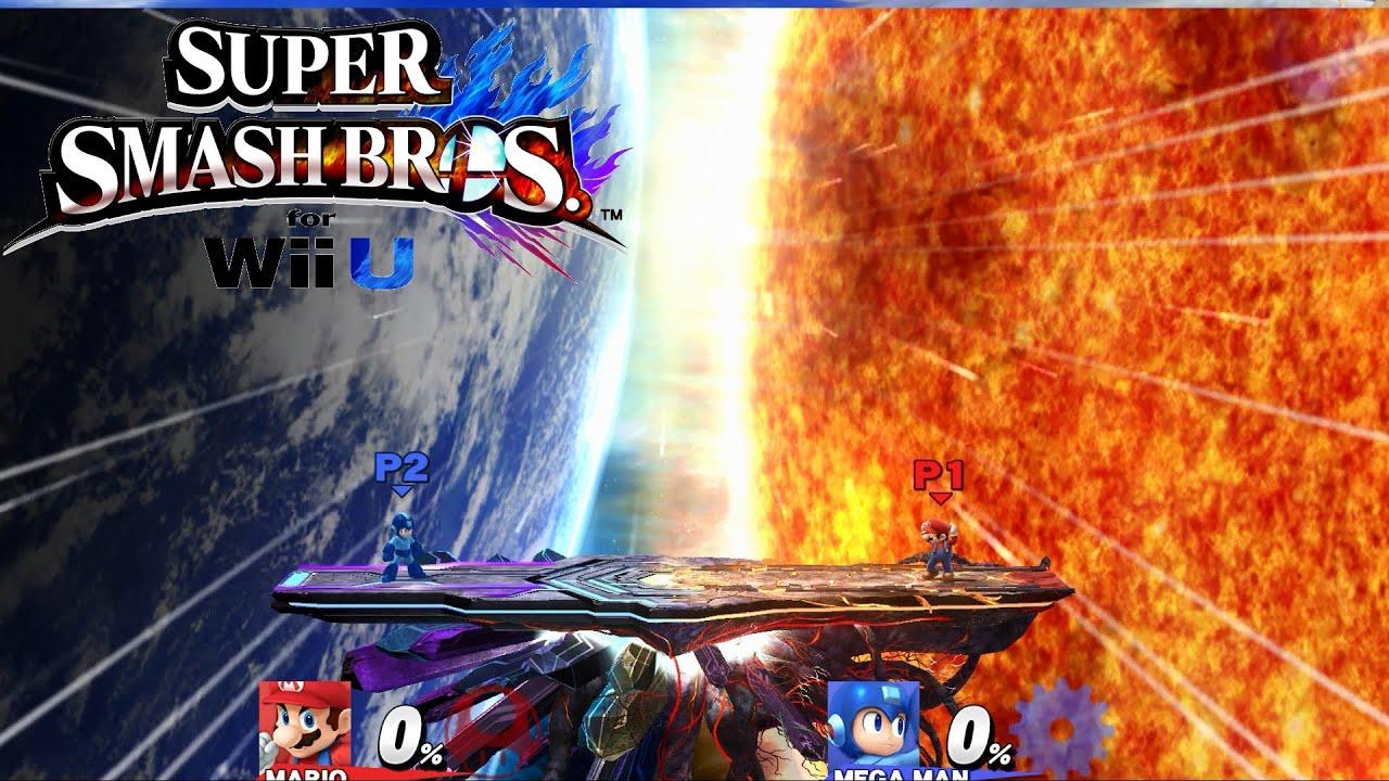 Final Destination Background View   Super Smash Bros Wii U 60fps 1280x720